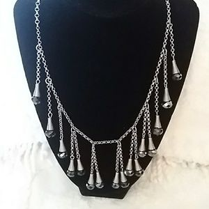 Fashionista Fringe Necklace